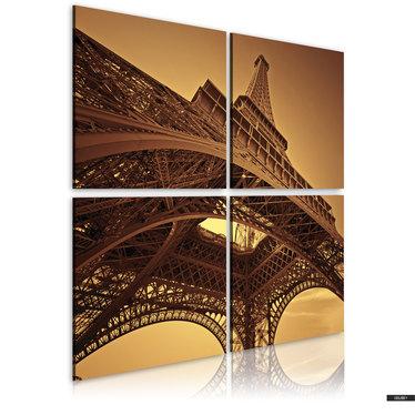 Wandbild EIFFELTURM - PARIS 80x80 cm