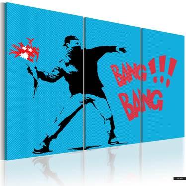 Wandbild BANG BANG! 60x40 cm
