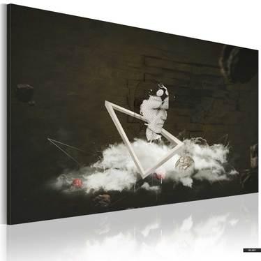 Wandbild A VISIONARY 90x60 cm