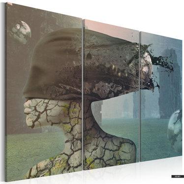 Wandbild BRAINSTORM 3-teilig  60x40 cm