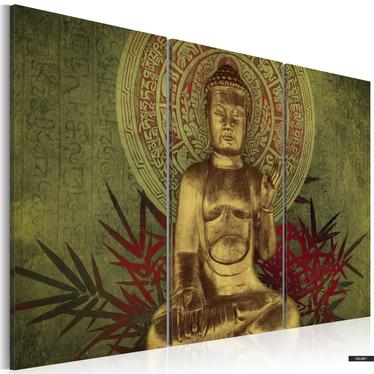 Wandbild SAINT BUDDHA 120x80 cm