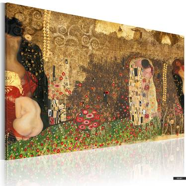 Wandbild GUSTAV KLIMT INSPIRATION 60x40 cm