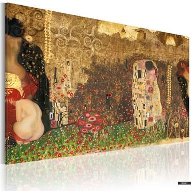 Wandbild GUSTAV KLIMT INSPIRATION 90x60 cm