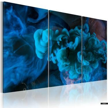 Wandbild BIG BLUE 120x80 cm