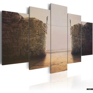 Wandbild EXISTENTIAL DILEMMAS 200x100 cm