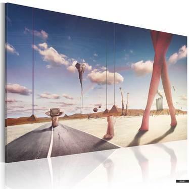 Obraz - Defragmentacja snów 60x40 cm