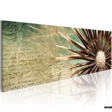 Wandbild FLÜCHTIGE POESIE 120x40 cm