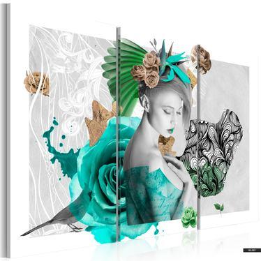 Wandbild INDIVIDUALISTIN 60x40 cm