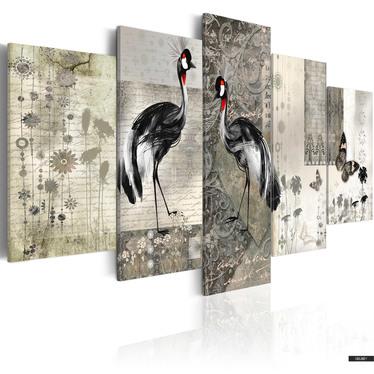 Wandbild STOLZ WIE EIN PFAU 100x50 cm