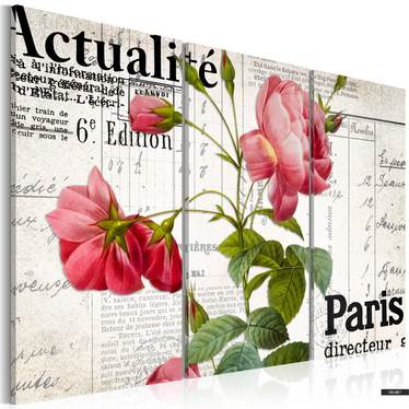 Wandbild PARIS DIRECTEUR 60x40 cm