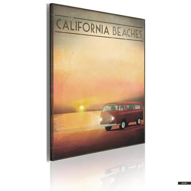Wandbild CALIFORNIA BEACHES 50x70 cm