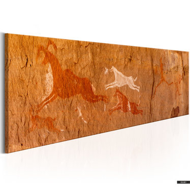 Wandbild GROTTENMALEREIEN 120x40 cm