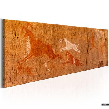 Wandbild GROTTENMALEREIEN 135x45 cm