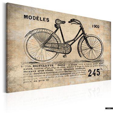 Wandbild N° 1245 - BICYCLETTE 90x60 cm