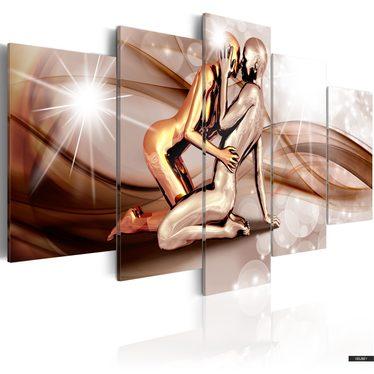 Wandbild WELLEN DER LIEBE 100x50 cm