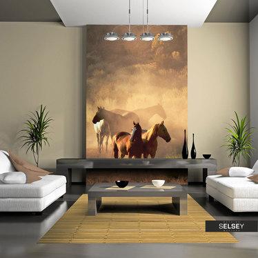 Fototapete WILD HORSES