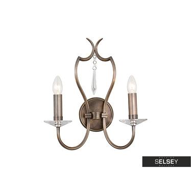 Wandlampe PIMLICO Bronze