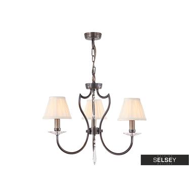 Kronleuchter PIMLICO Bronze (3 Lampen)