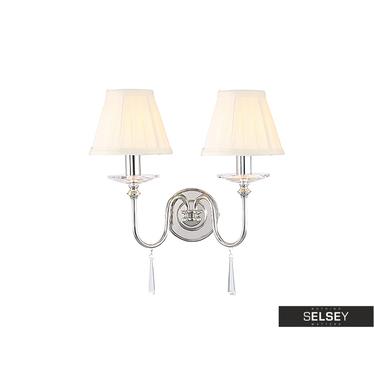 Wandlampe FINSBURY PARK Nickel (2 Lampen)