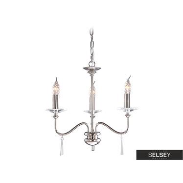 Kronleuchter FINSBURY PARK Nickel (3 Lampen)
