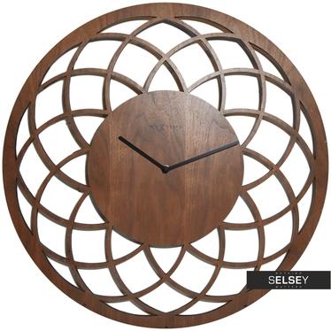Wanduhr MIDRAT rund aus Holz 60 cm