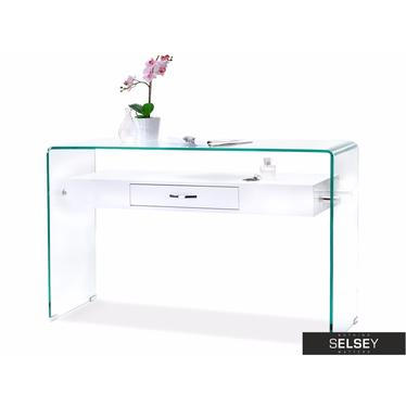 Schreibtisch OPAL weiß mit Schublade