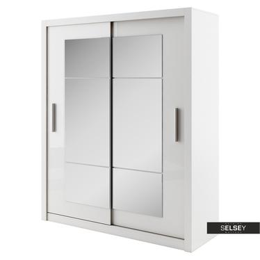 Kleiderschrank LONDRE 180 cm mit Spiegeln