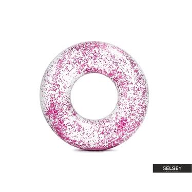 Schwimmring GLITTER rosa 119 cm