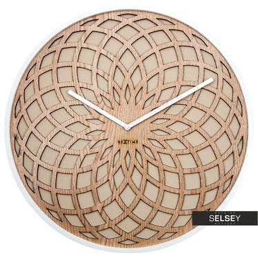 Wanduhr SUN 35 cm aus Holz