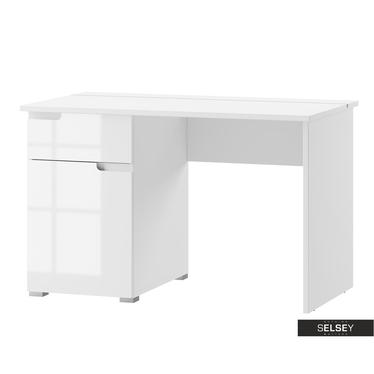 Schreibtisch MAGONER Weiß mit Schublade