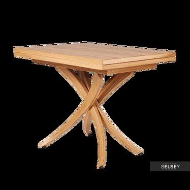 Esstisch GENIUS 3in1 lackiertes Eichenholz klappbar