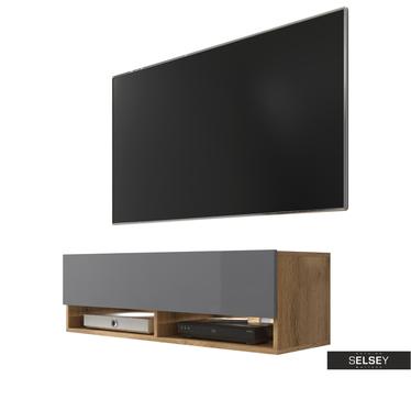 TV-Lowboard WANDER 100 cm hängend/stehend optional mit LED-RGB
