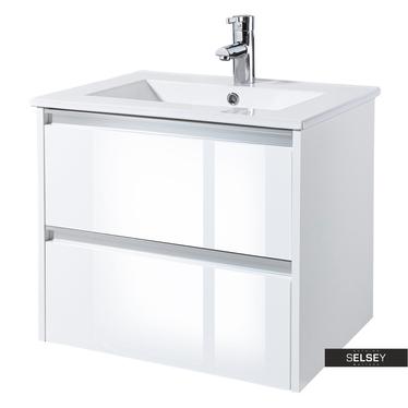 Waschbeckenunterschrank ANTARI Weiß 60 cm breit