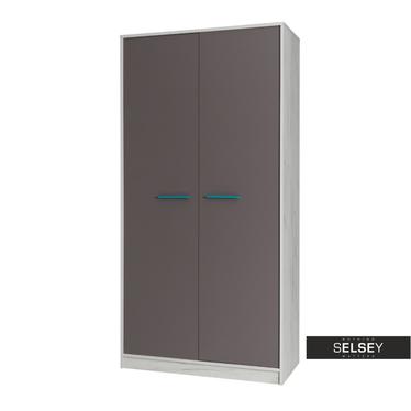 Kleiderschrank JONK mit 2 Türen