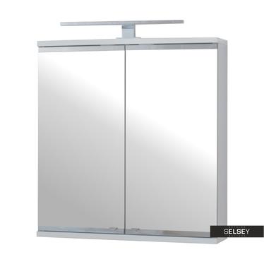 Spiegelschrank EVIELA 2-türig mit LED 60 cm