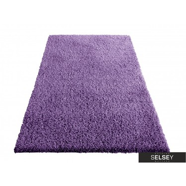 Teppich FLOSSY violett Hochflor