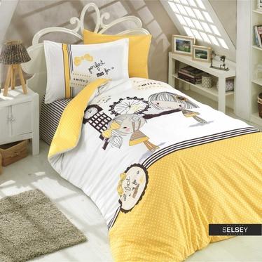 Bettwäsche PAMALEE 160x220 cm mit Kissenbezug 50x70 cm für Kinder
