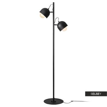 Stehlampe FIENE Schwarz 161 cm