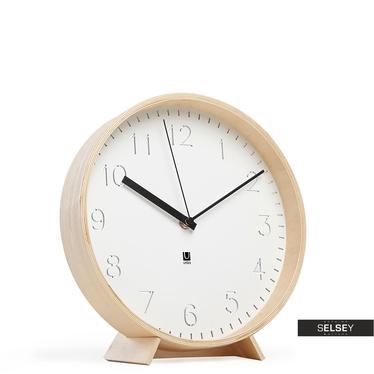 Uhr RIMWOOD weiß/Holz