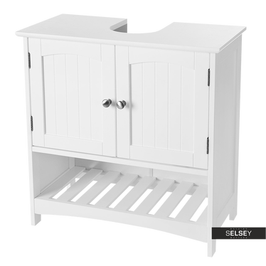 Waschbeckenunterschrank WLENS mit offenem Fach unten