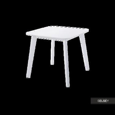 Esstisch CLARKE weiß 80x80 cm
