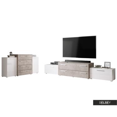 Wohnzimmer-Set MOLLIT