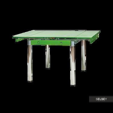 Ausziehtisch GREVINGE Grün 80-131x80 cm