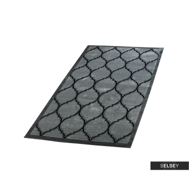 Teppich MAROKKO dunkelgrau