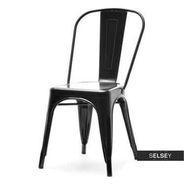 Metallstuhl ALFREDO I schwarz
