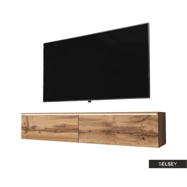 TV-Hängeboard KANE 140 cm optional mit LED