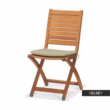Gartenstuhl CATALINA mit Sitzkissen, klappbar