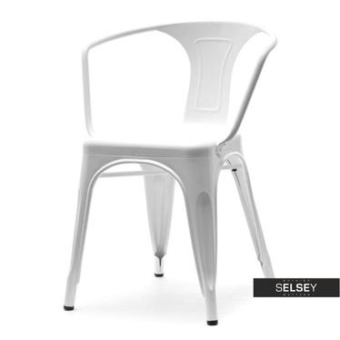 Metallstuhl ALFREDO II weiß
