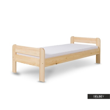 Bett ALENO aus Kiefernholz mit Lattenrost