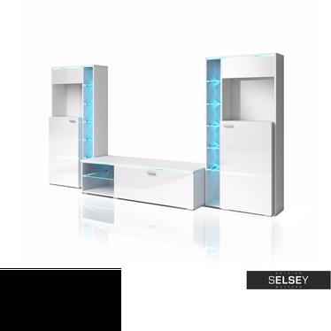 Wohnwand ANTON optional mit LED